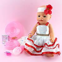 999-S Кукла пупс Baby born с аксессуарами в коробке 26,5-38,5-15,5см