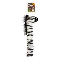 Игрушка мягкая зебра 35 см