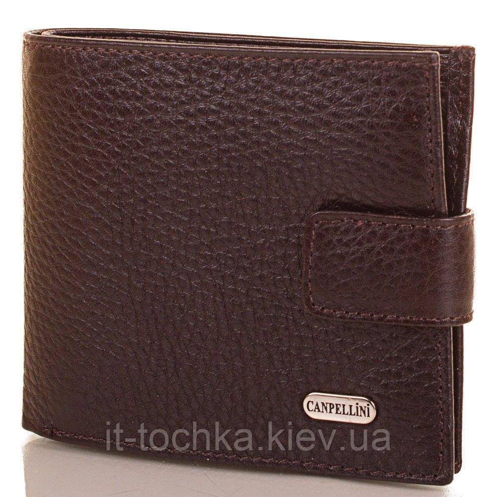 Мужской кожаный кошелек canpellini (КАНПЕЛЛИНИ) shi222