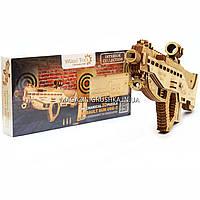 Деревянный конструктор Wood Trick Штурмовая винтовка USG-2.Техника сборки - 3d пазл