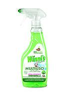 Гипоаллергенное моющее средство для мытья окон, зеркал, стекла Winni's 500мл,арт.000811