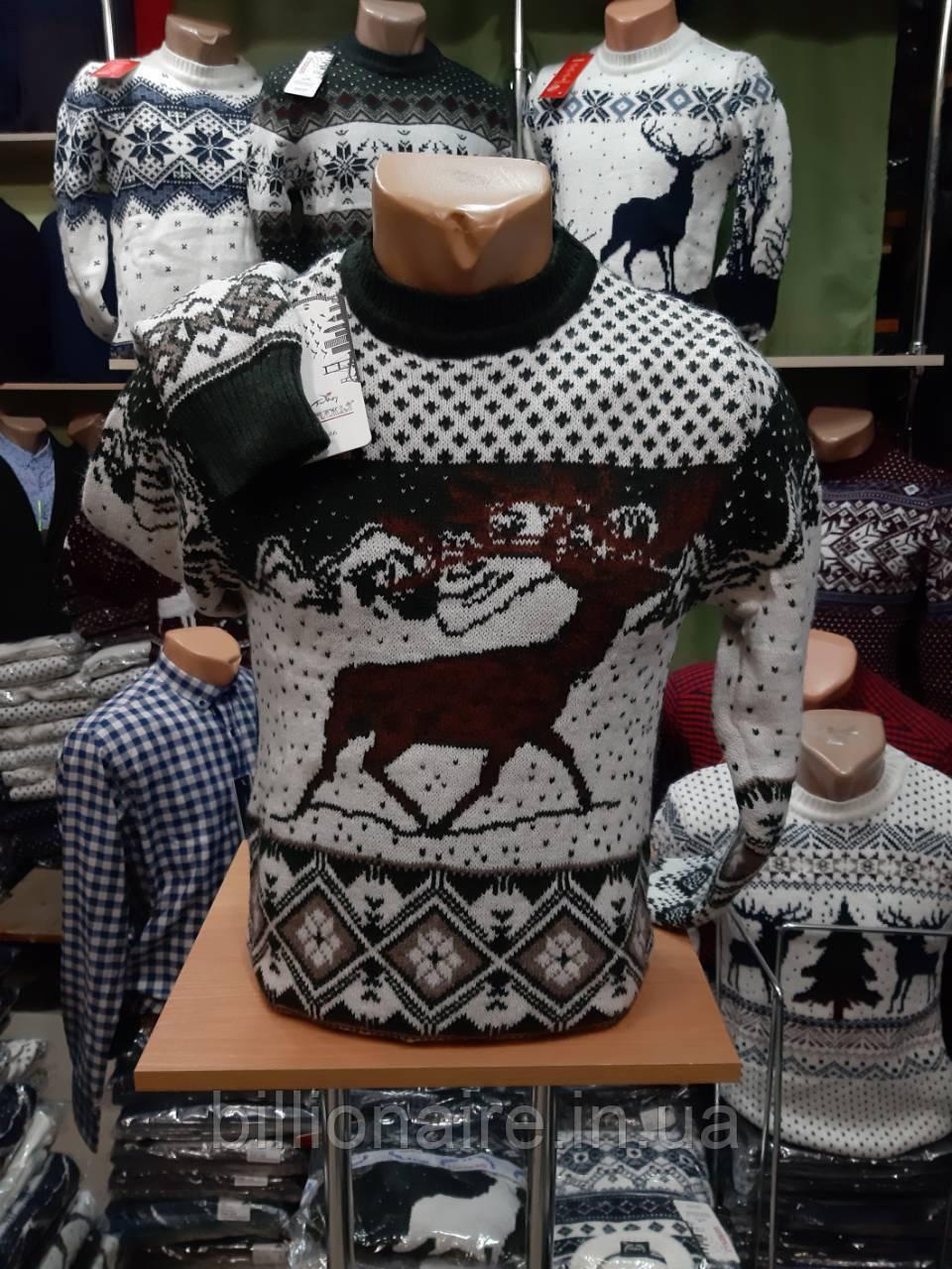 Новорічний светр з оленем 2