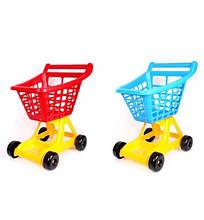 4227 Детская Тележка для супермаркета большая тм Технок пластик Украина