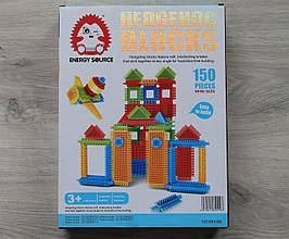 004 Конструктор Конструктор Bristle Blocks 150 дет mini size