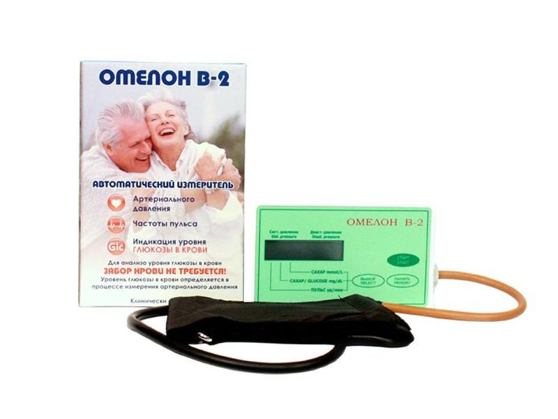 Тонометр+Глюкометр ОМЕЛОН В-2 Праймед