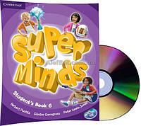 Английский язык /Super Minds/Student's Book+DVD. Учебник с диском, 6/Cambridge