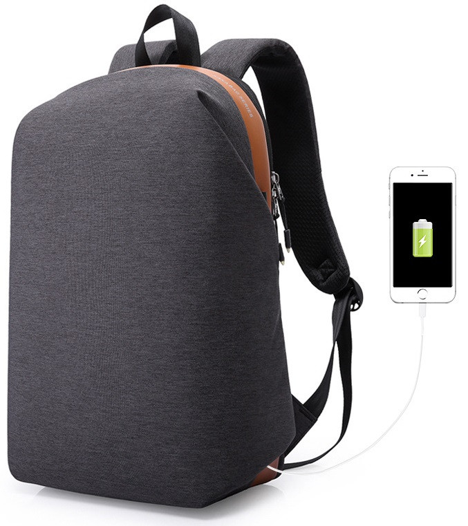 96e80f898a23 Городской рюкзак для ноутбука Kaka 17007 в стиле минимализм, 23л -  Интернет-магазин