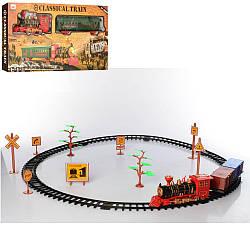 ЖД 8299-82-3 (18шт) локомотив19см, вагон26см,зв, св,дор.знаки,2вида, на бат-ке,в кор-ке, 55-28-6,5см