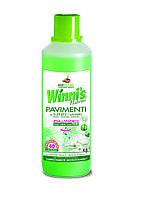 Гипоалергенное средство для мытья и дезинфекции пола Winni's Pavimenti e Superfici 1л, арт.000644