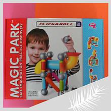 8110 Магнитный конструктор для детей 30 деталей в коробке 43х35х8 см