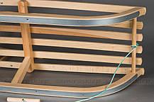 Санки деревянные BLUE, фото 3