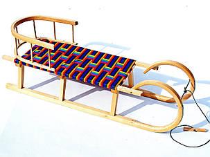 Санки деревянные WOOD ROGI, фото 2