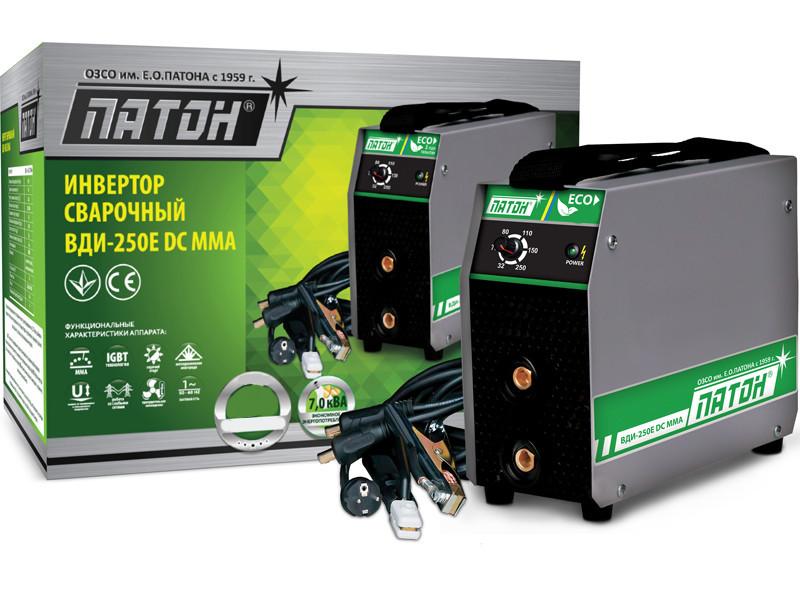 Зварювальний інвертор Патон ВДІ-250E eco