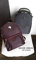 Женский бордовый рюкзак David Jones АРТ. 010061, фото 1