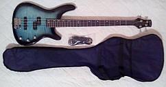 Классная бас-гитара Wilson + чехол + ремень!