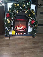 Гирлянда из еловых веток новогодний декор 3 метра , гирлянда новогодняя, фото 1
