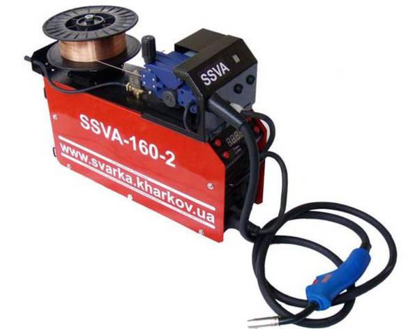 Сварочный инвертор SSVA-160-2 TIG с осциллятором, фото 2