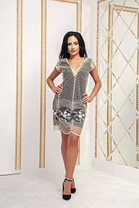 Женское коктейльное платье №158-586