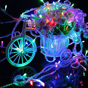 Новогодняя гирлянда 30 LED, Длина 3M, Разноцветная, фото 2