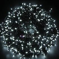 Новогодняя гирлянда 100 LED,Белый холодный, Длина 8 Метров, фото 2