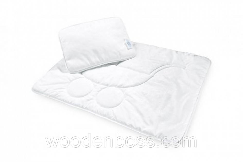 Набор в коляску:одеяло и подушка