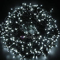 Новогодняя гирлянда 300 LED, IP44, Длина 20 М, Белый холодный свет, фото 2