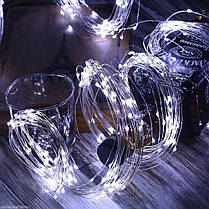 Новогодняя гирлянда 200 LED, 20 веток по 10 светодиодов каждая, фото 3