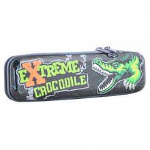 531885 Пенал школьный металлическиий Extreme Crocodile