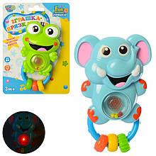 3661 Детская погремушка для малышей с музыкальными и световыми эффектами