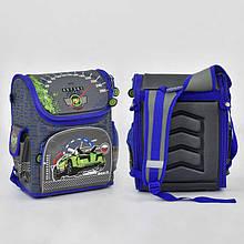 00147 Каркасный рюкзак с ортопедической спинкой рисунок Машина