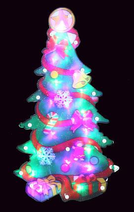 "Новогодняя скульптура ""Елка"" 24 LED, фото 2"