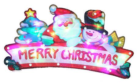 """Новогодняя скульптура """"Дед Мороз"""" 24 LED, фото 2"""