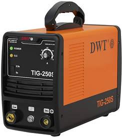 Аргонодуговой сварочный аппарат DWT TIG-250 S