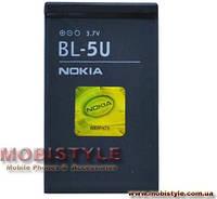 Аккумуляторная батарея Nokia BL-5U(оригинал).Аксессуары для мобильных телефонов.АКБ.