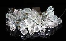 Новогодняя гирлянда 30 LED, Длина 7 М, Белый теплый свет, фото 3