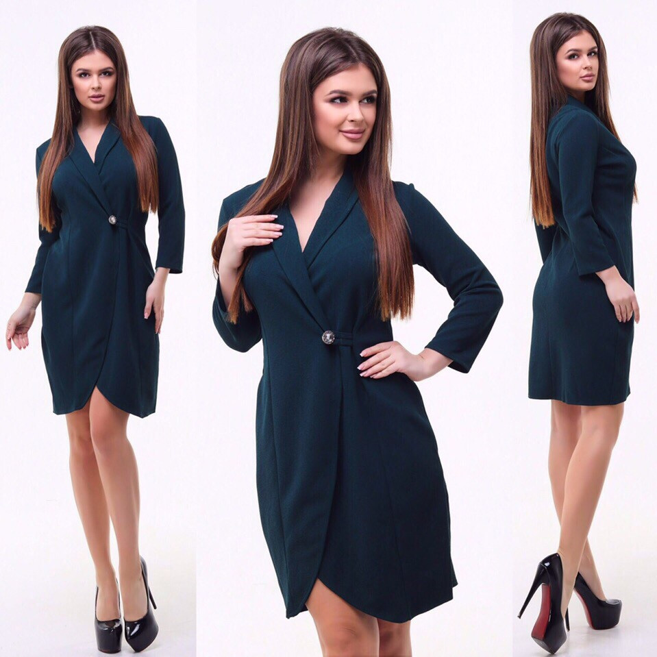 Платье / трикотаж Сафари / Украина 15-390