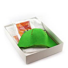 Подарочный набор для сауны Sauna Pro 7 Лягушка N-156, КОД: 295707