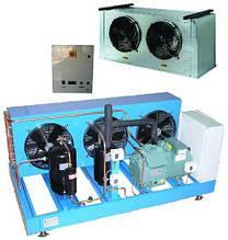 Комплектные холодильные машины для хранения, охлаждения рыбы и  морепродуктов