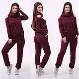 Женский костюм / ангора софт с напылением / Украина 15-420, фото 3