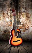 Класична гітара 3/4 під метал нейлон + чохол!