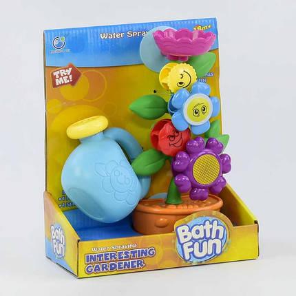 9909 Игрушка-водопад для ванной Цветок в горшке, фото 2
