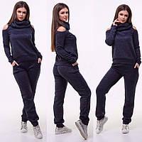 Женский костюм / ангора софт с напылением / Украина 15-421, фото 1