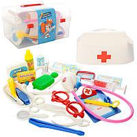 0459 Набор Доктор 28 предметов, в чемодане, 21-12-12см