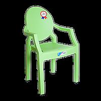Кресло детское Irak Plastik Afacan зеленое