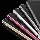 Чехол бампер Mobiking Bumper Metalic Slim iPhone 6 Plus Pink
