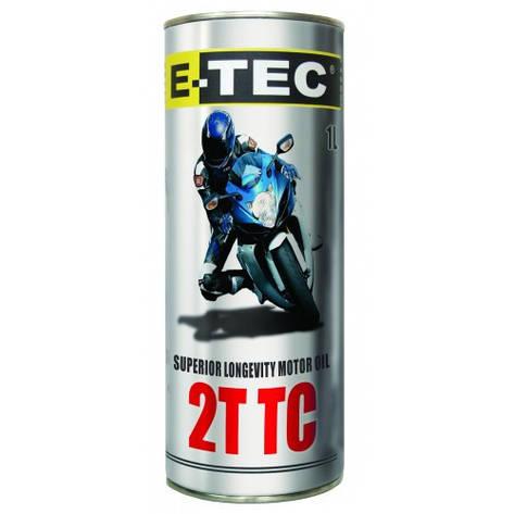 Масло E-TEC 2T для двухтактных двигателей 1л, фото 2