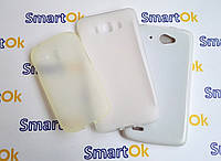 New Line X-series Case + Protect Case Fly IQ450 White чехол накладка силиконовая