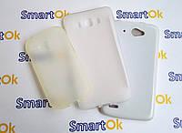New Line X-series Case + Protect Screen Fly IQ449 White чехол накладка силиконовая