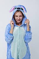 Пижама-кигуруми Стич Синий M 160 -170 см (kg-00000014) 17d713fc2fecb