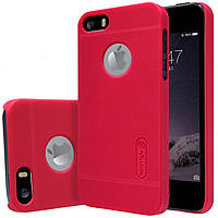 Чехол NILLKIN Frosted Shield iPhone 5 Red